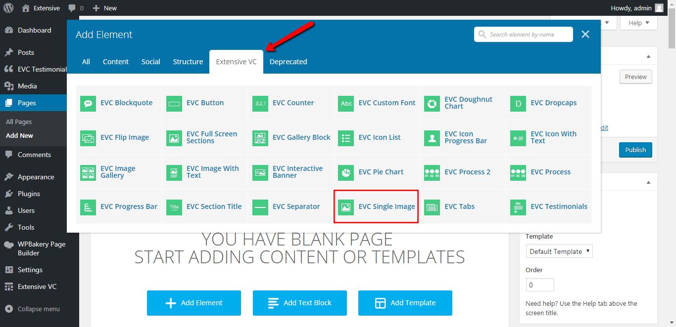 WP Realize Extensive VC plugin - Single Image shortcode